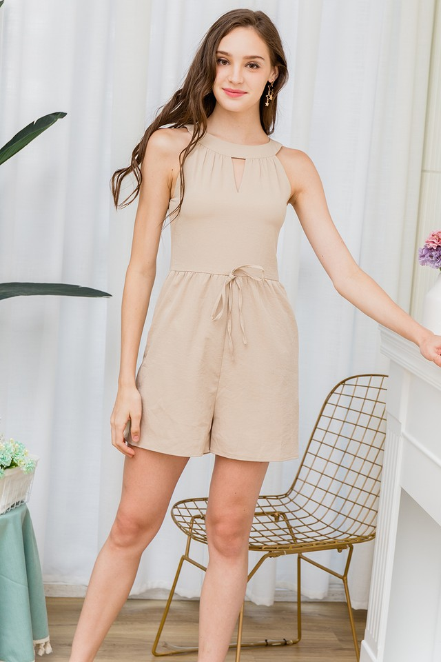 Gayle Playsuit Sand