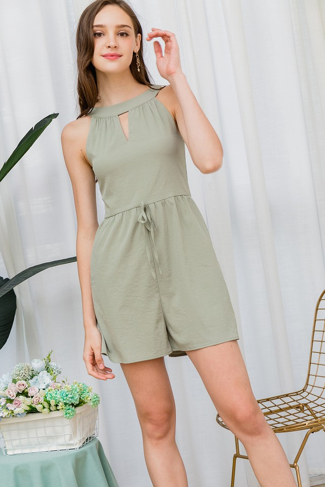 Gayle Playsuit Sage