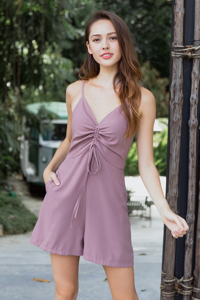 Zain Playsuit Mauve