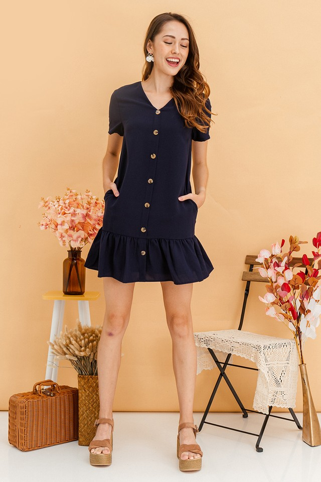 Wynne Dress Navy