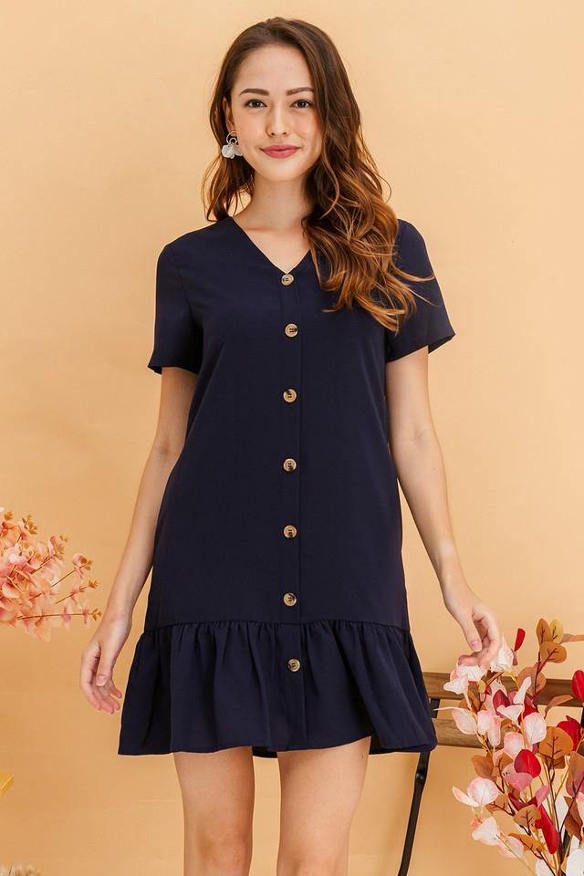 Wynne Dress Navy