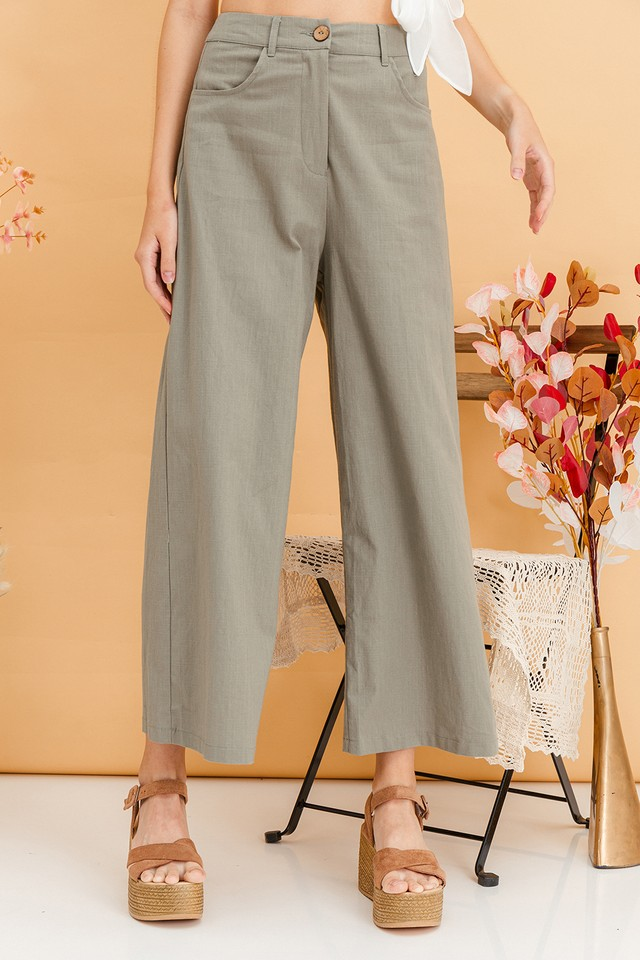 Denice Culottes Olive