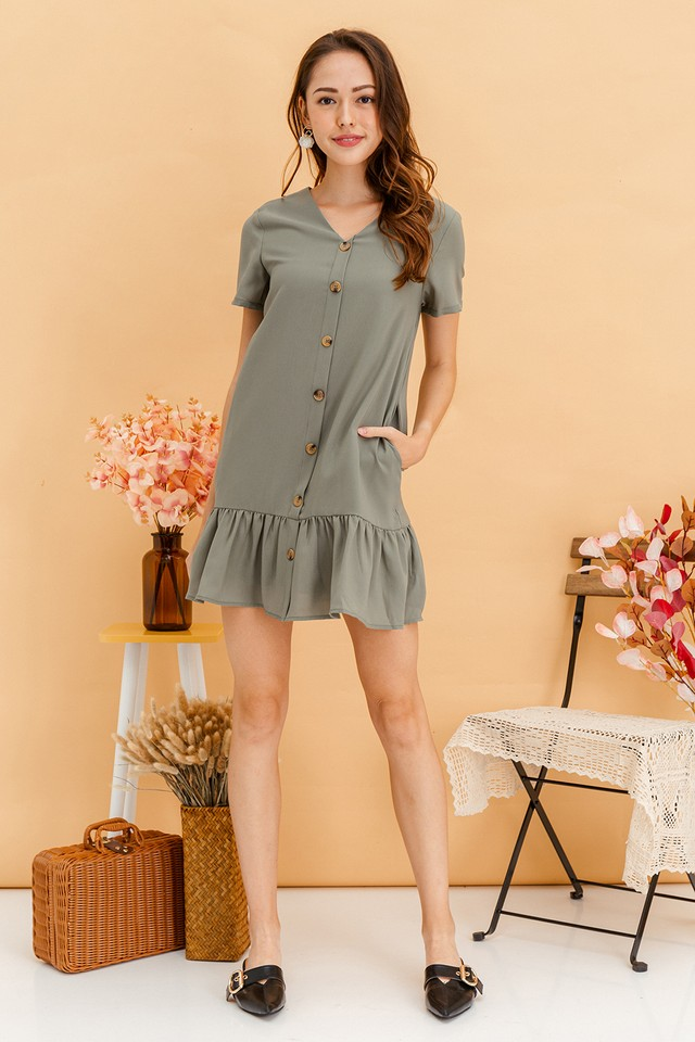 Wynne Dress Sage