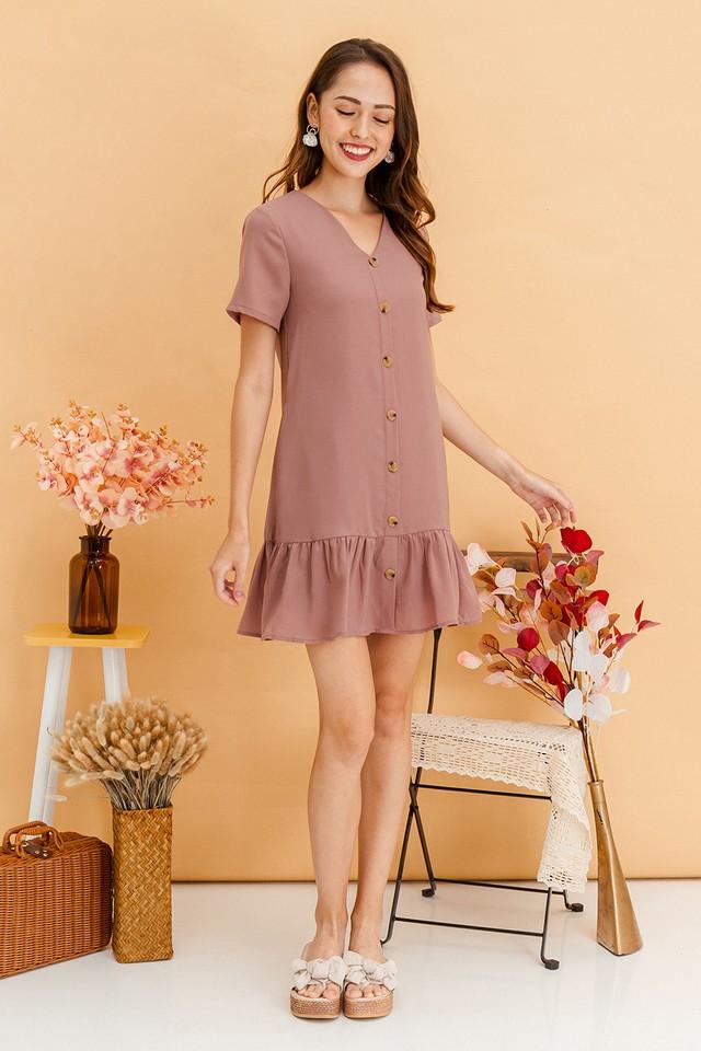 Wynne Dress Mauve