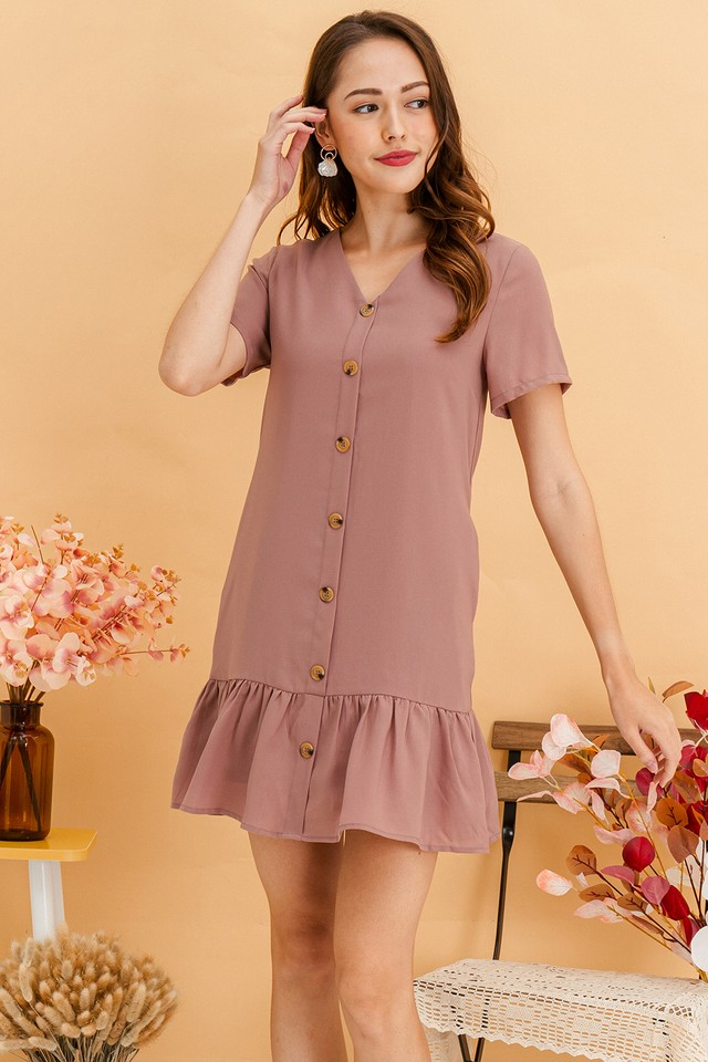 Wynne Dress Mauve