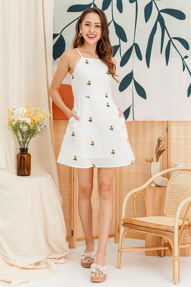 Carter Dress Sunflower