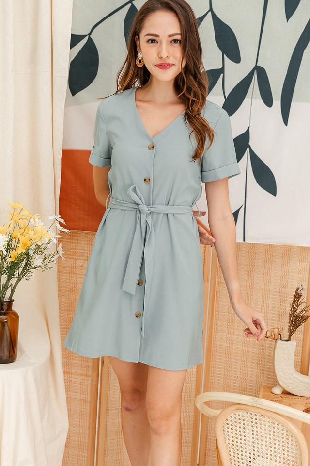 Abbey Dress Mint