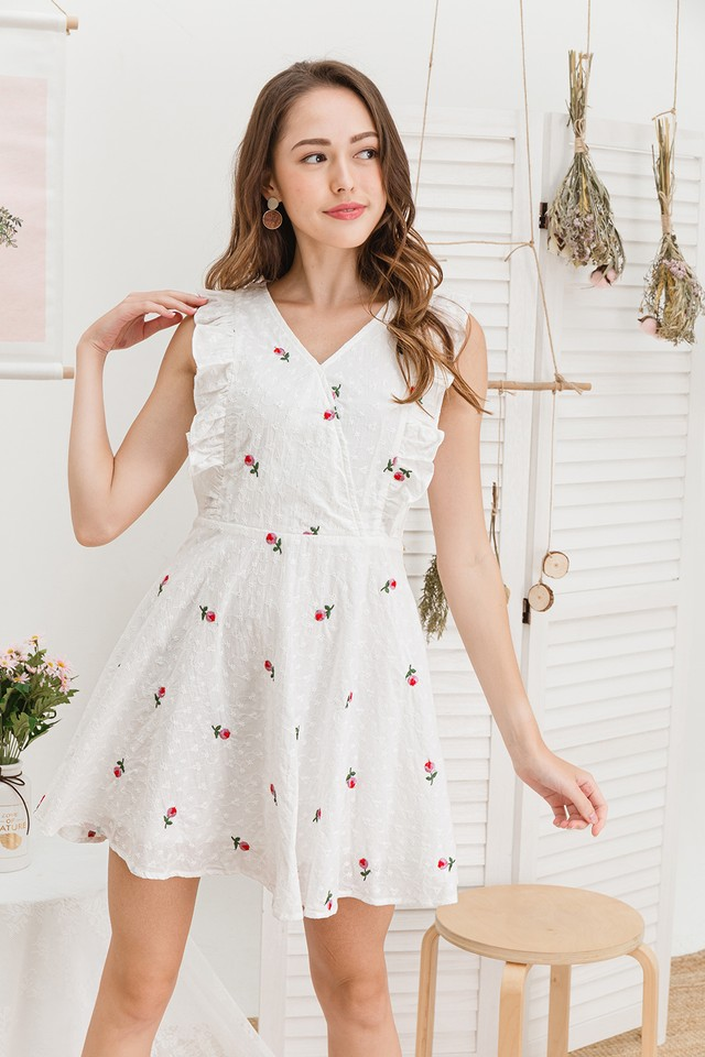 Echo Dress Pink Rose