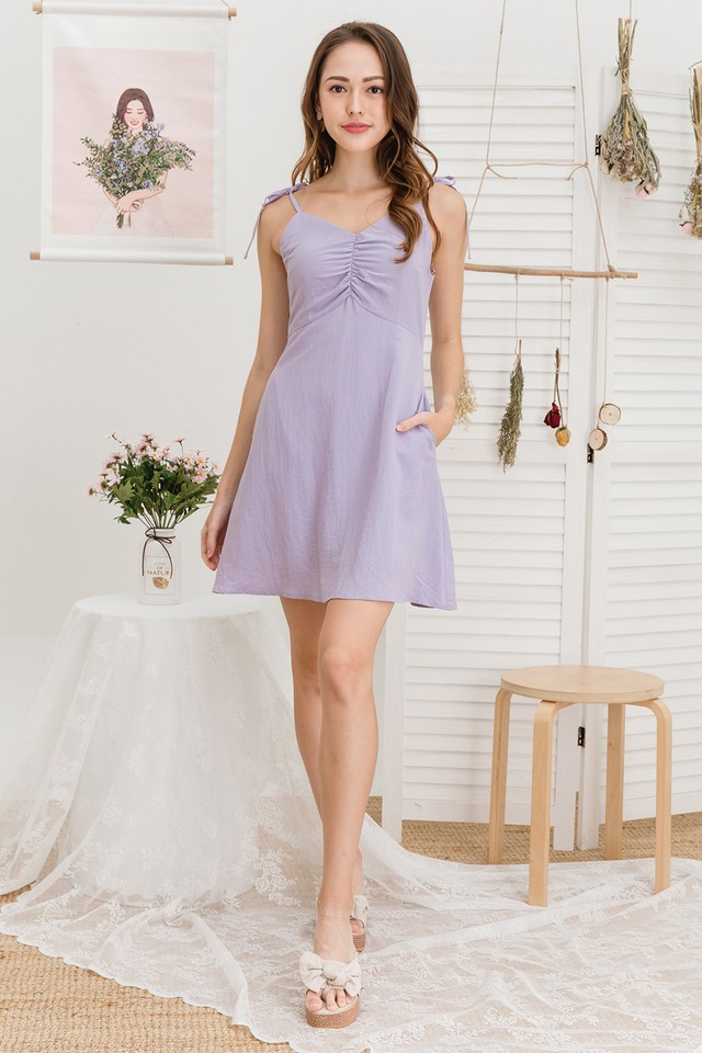 Carrie Dress Lilac
