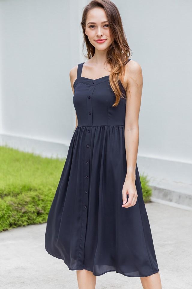 Torrie Dress Navy