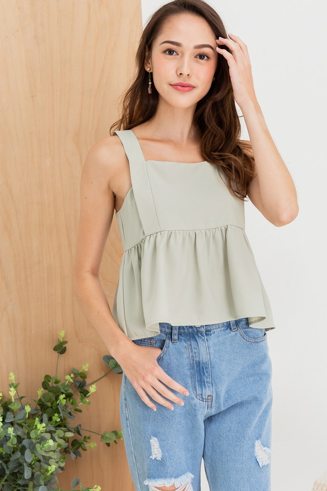 Soleil Top Apple Green
