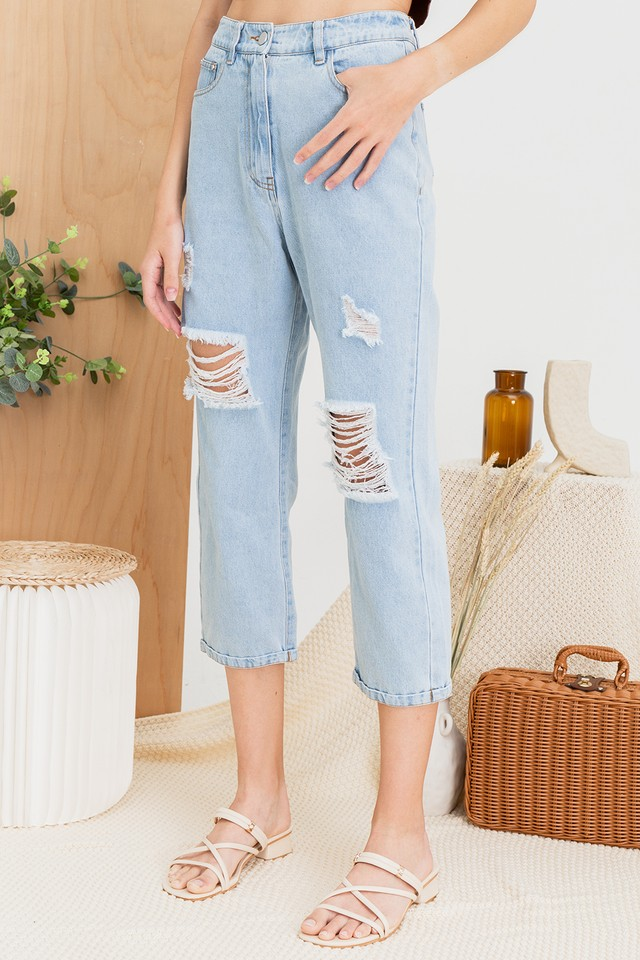 Bessie Denim Jeans Light Wash