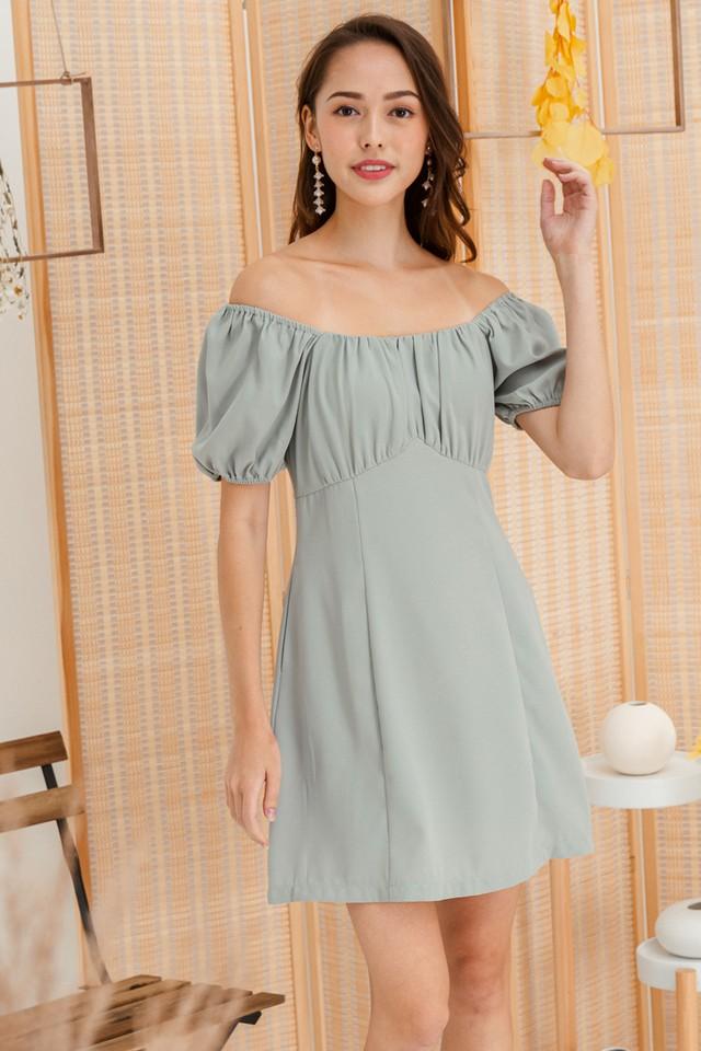 Zenna Dress Sage
