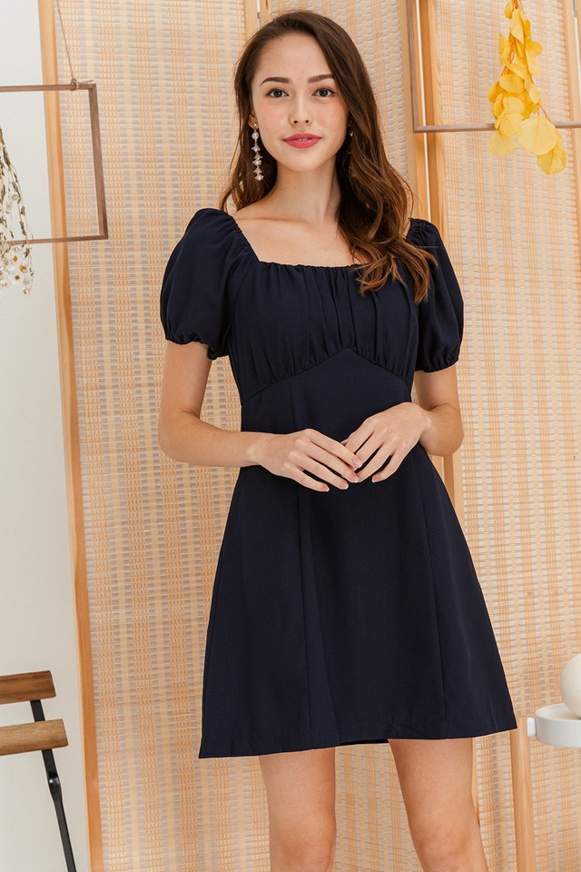 Zenna Dress Navy