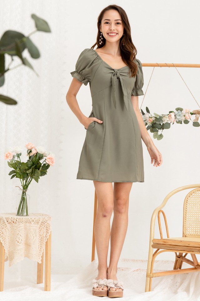 Windson Dress Sage