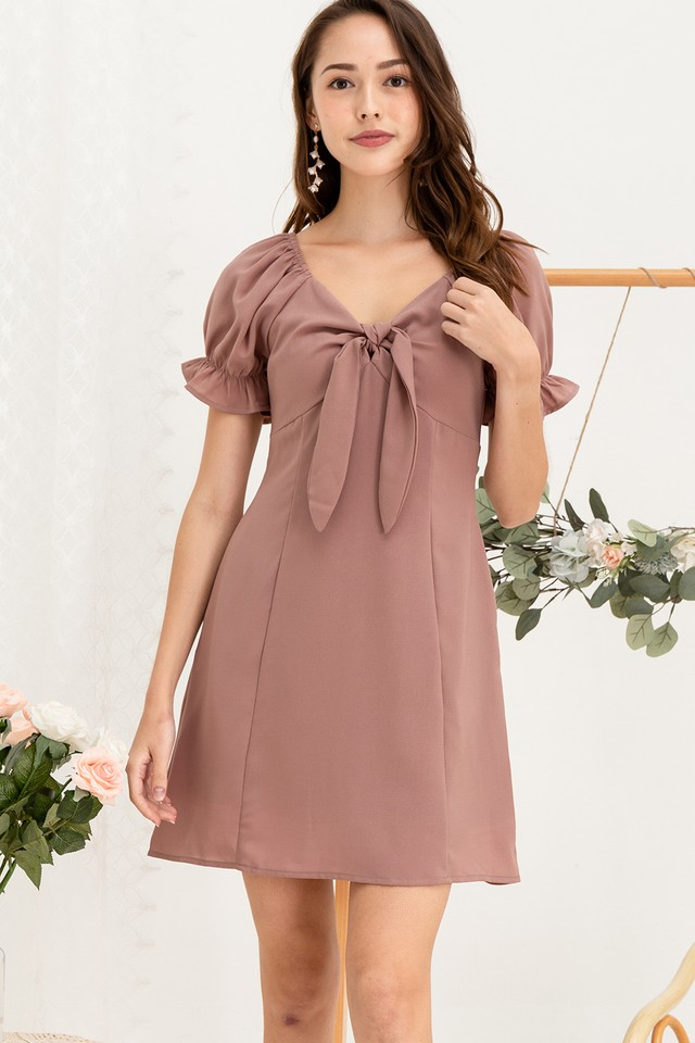 Windson Dress Mauve
