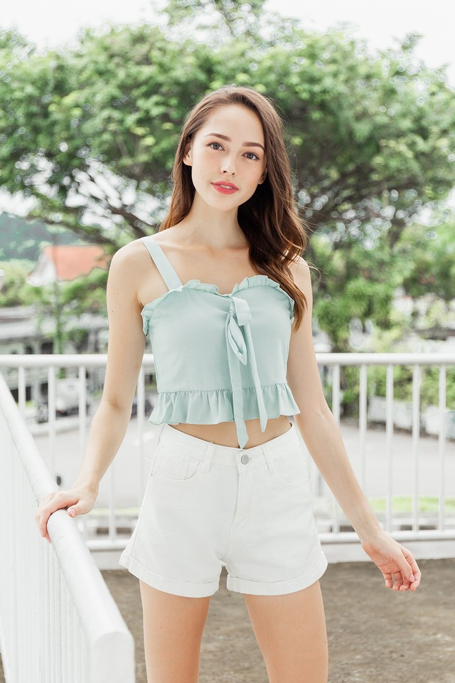 Flynna Top Pastel Mint