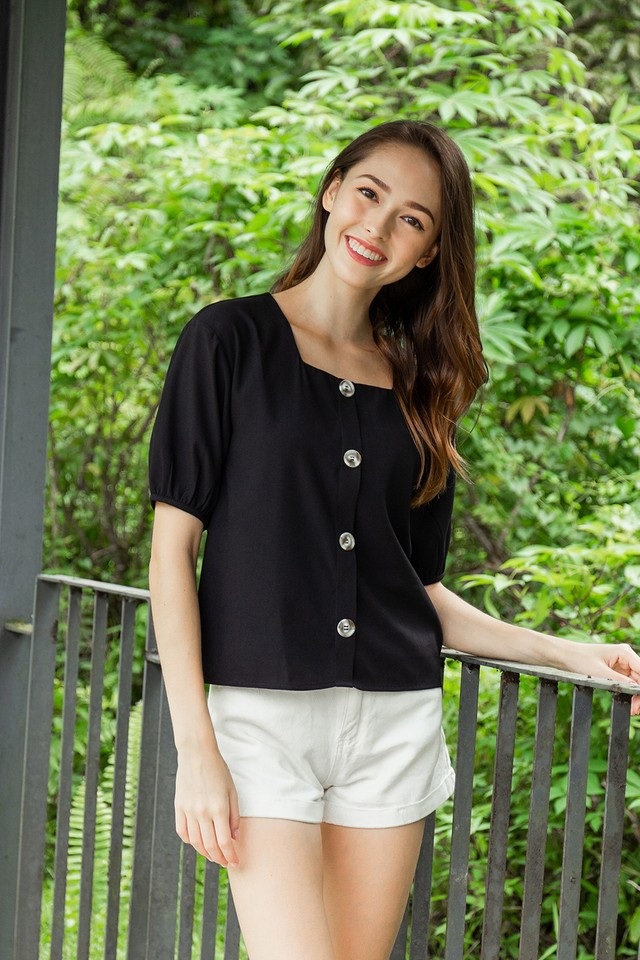Zayden Top Black
