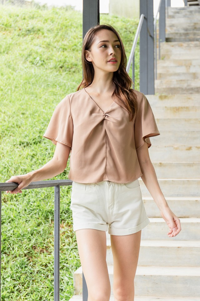 Aura Top Tan