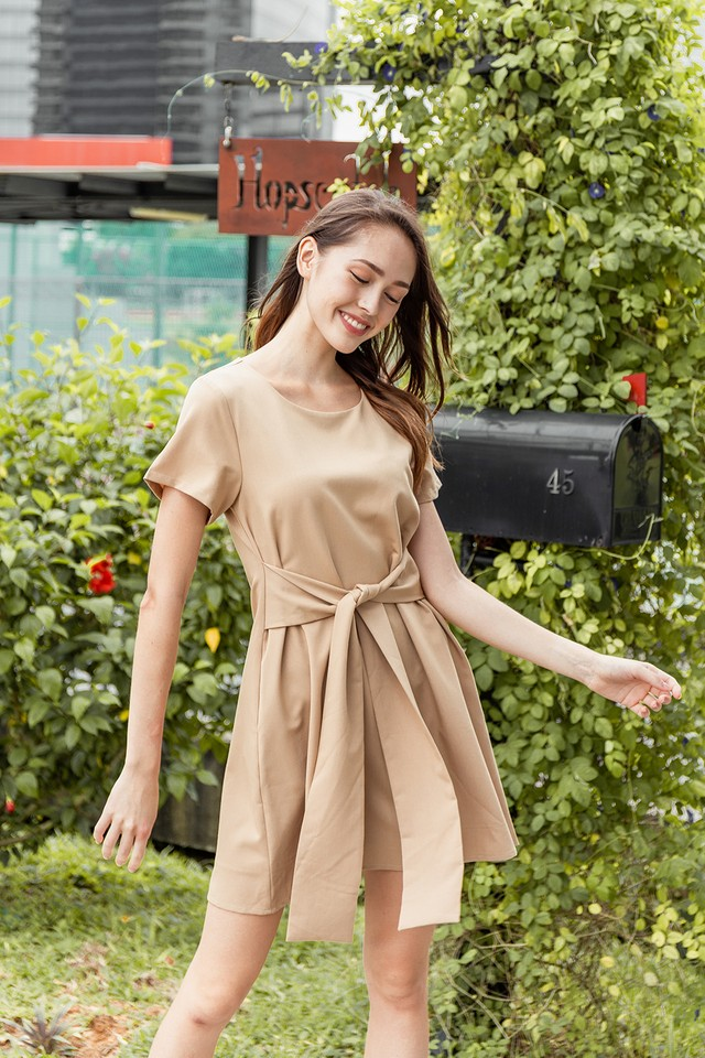 Aislin Dress Khaki