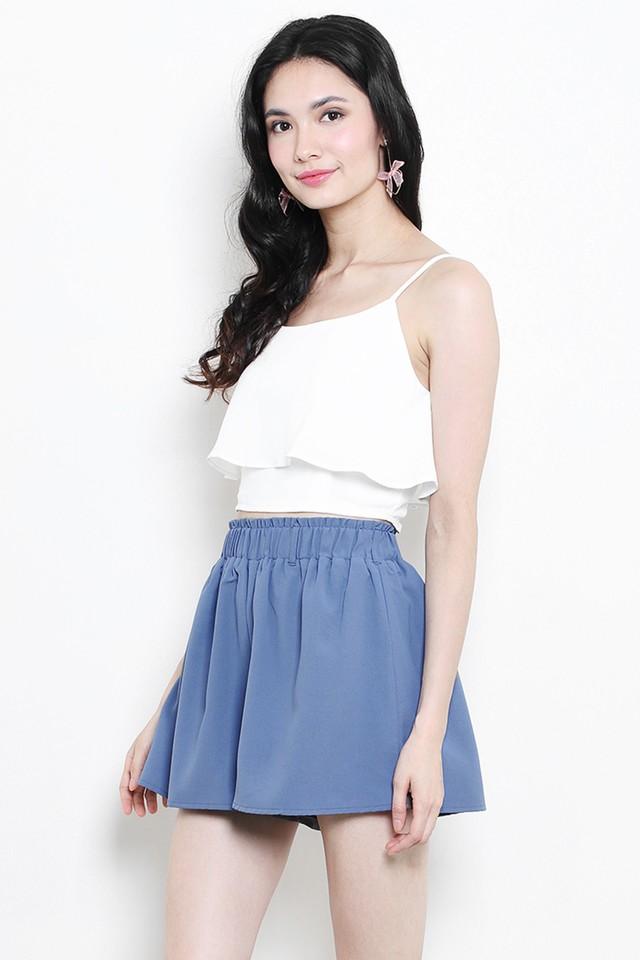 Tasha Shorts Ash Blue