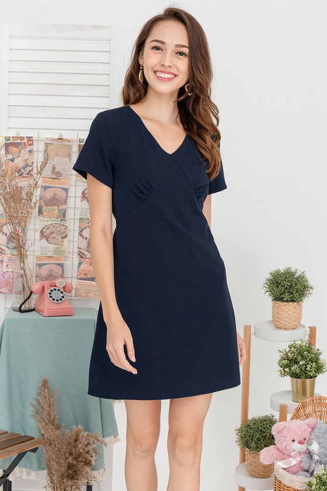Anwena Dress Navy