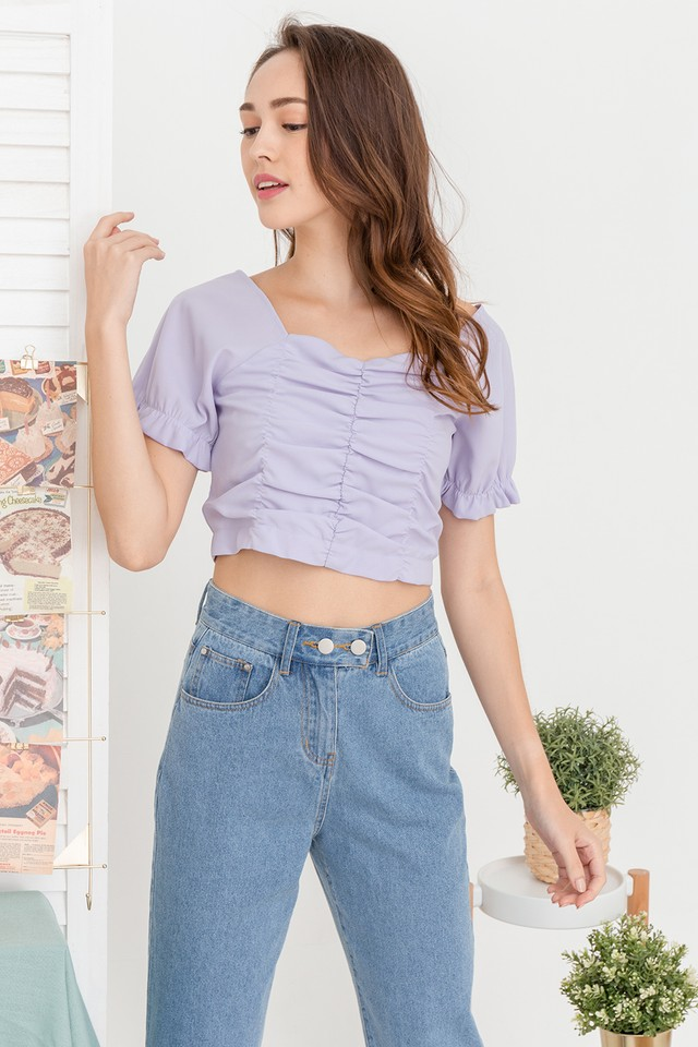 Lynna Top Lilac