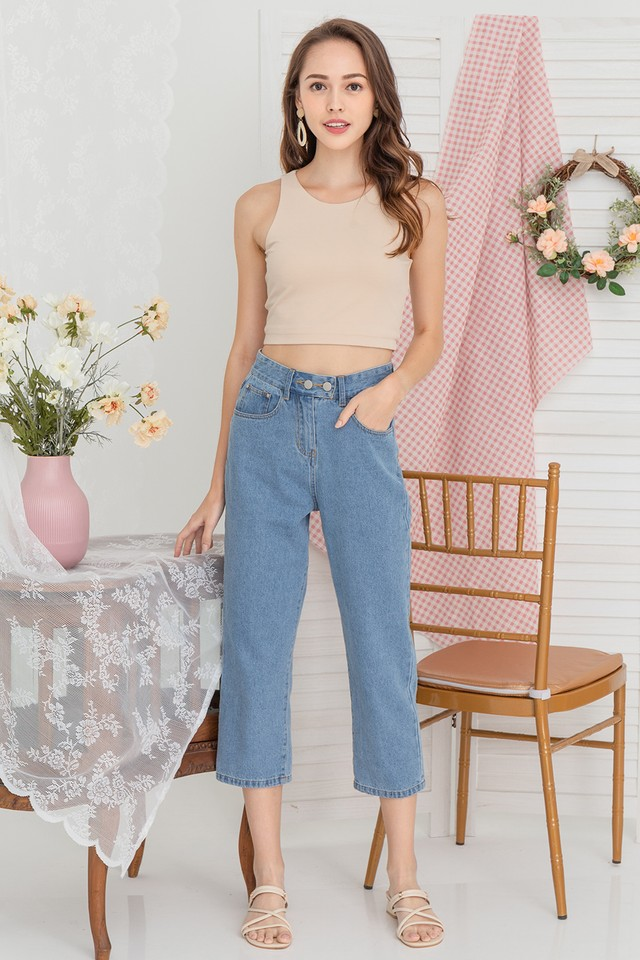 Xaviera Denim Jeans Mid Wash