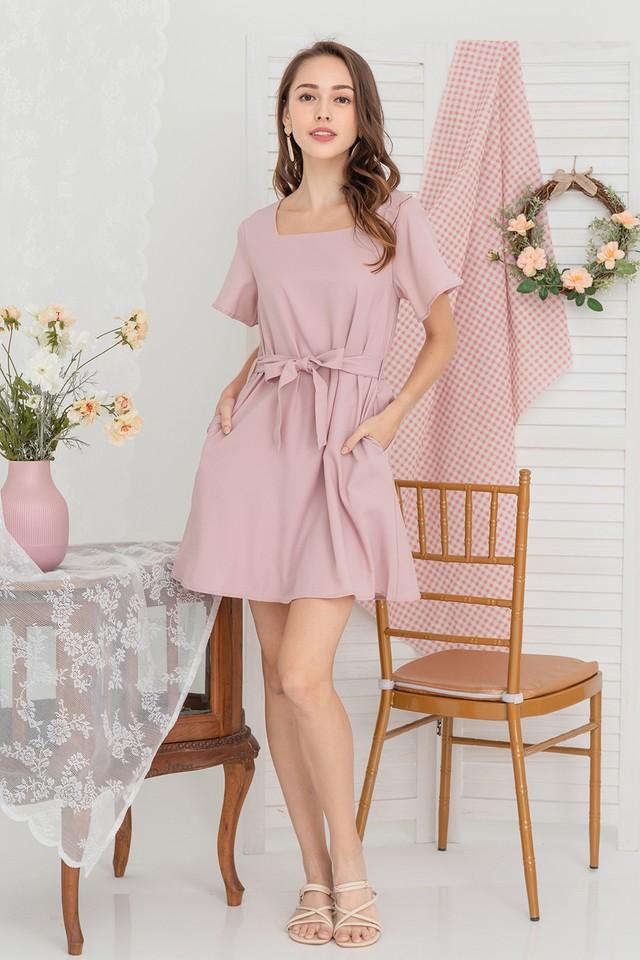 Amya Dress Pink