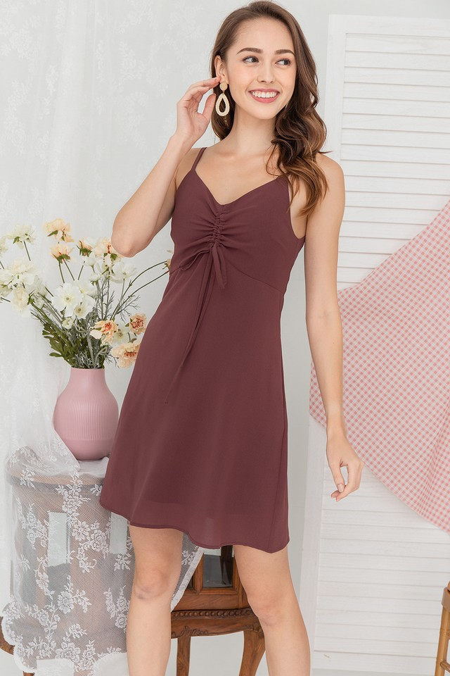 Tarla Dress Mauve