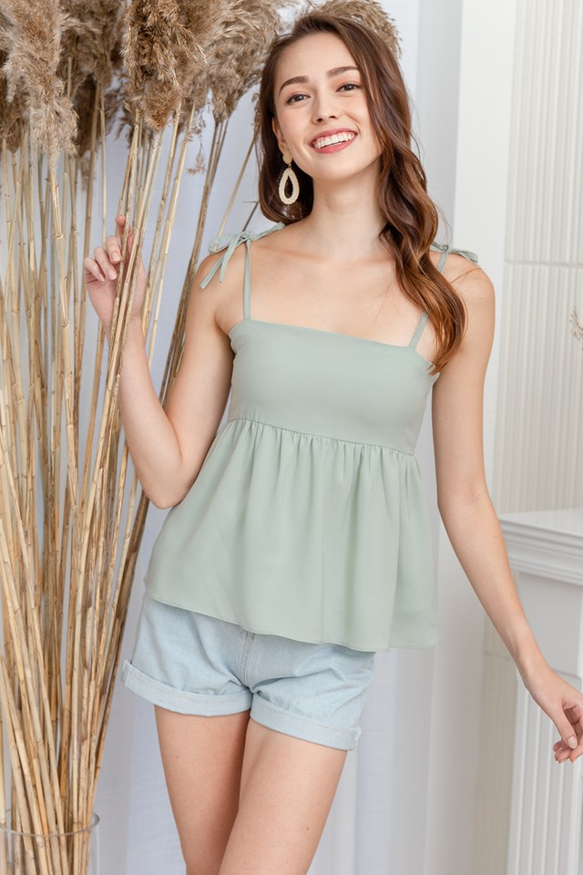 Elicia Top Pastel Mint
