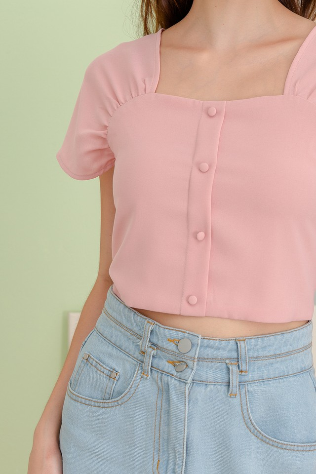 Newton Top Candy Pink