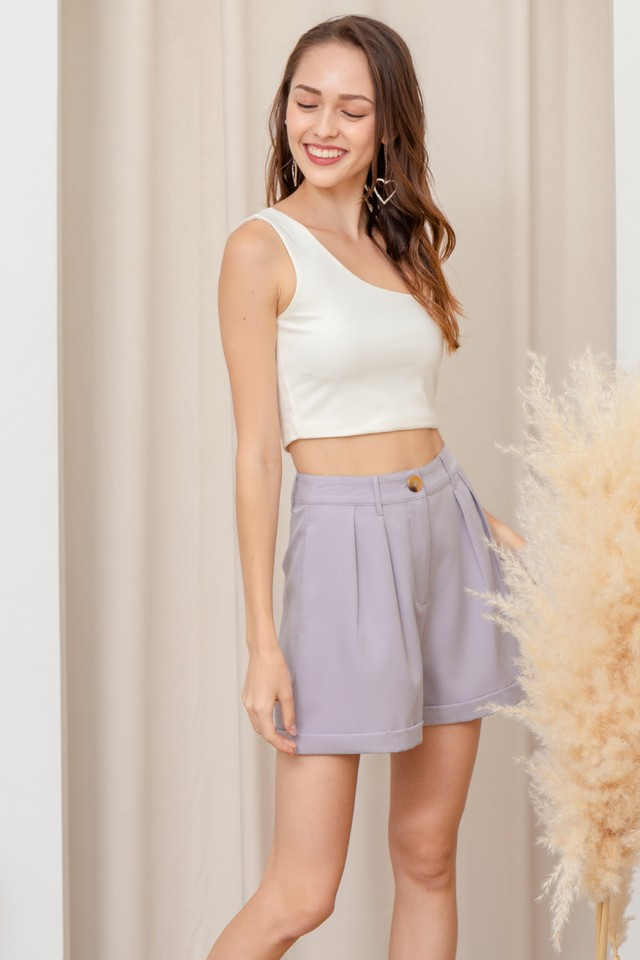 Pam Shorts Grey Lilac
