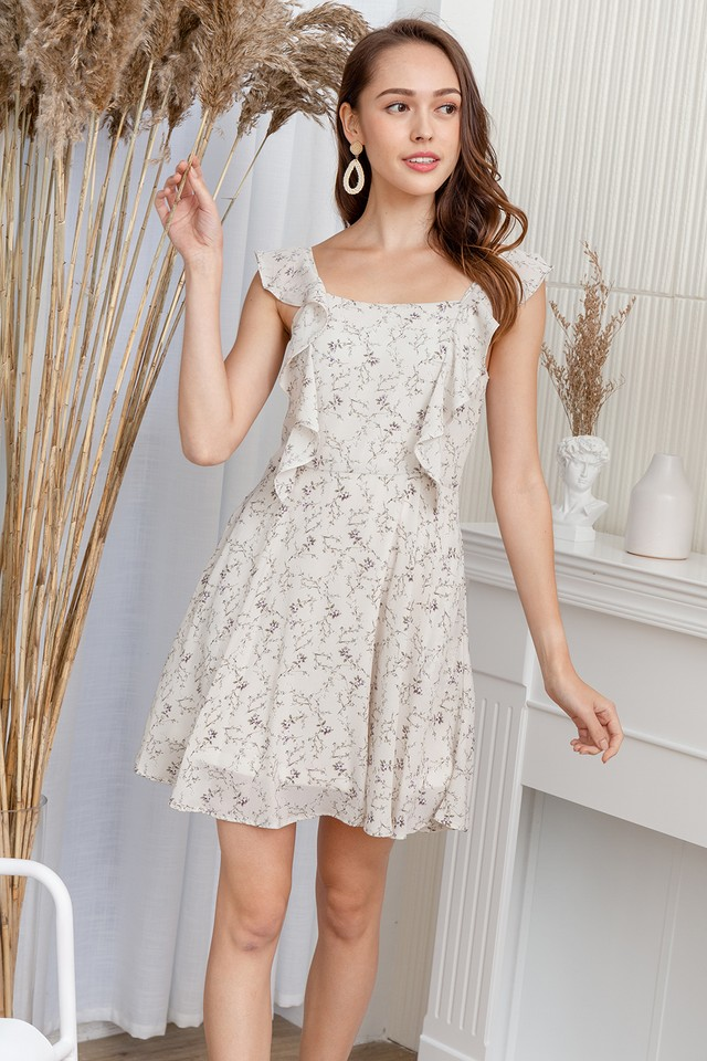 Carlisle Dress White Floral