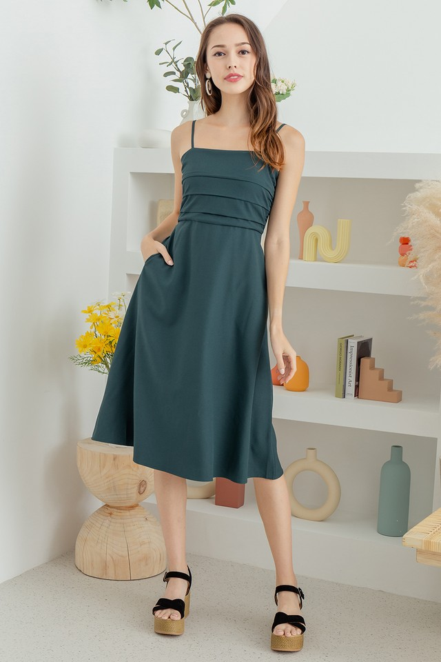 Mathilde Dress Forest