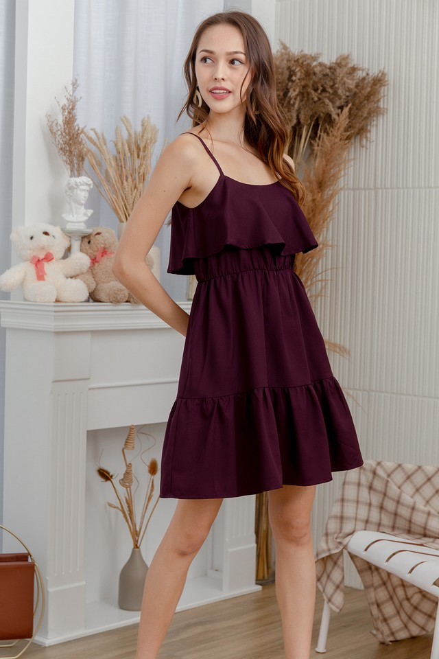 Tallon Dress Burgundy
