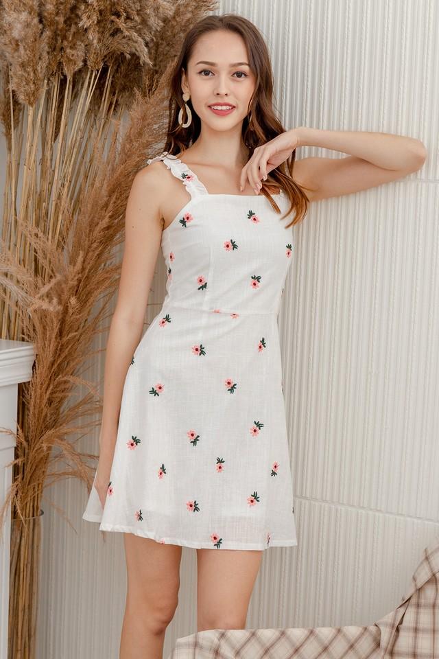 Audwin Dress Pink Sunflower