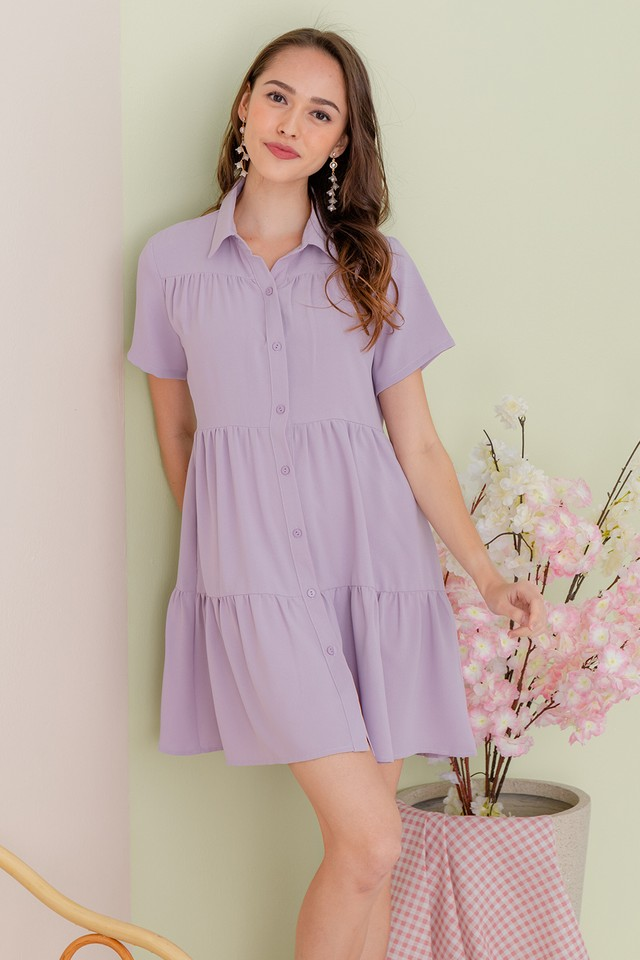Jordana Shirtdress Lilac