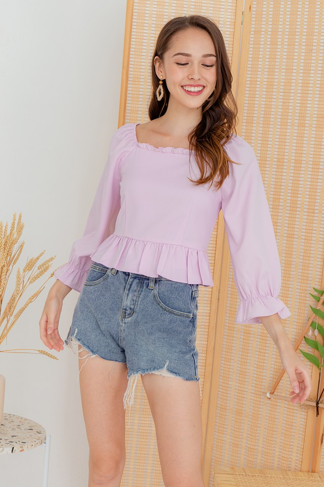 Andres Top Pink Lilac
