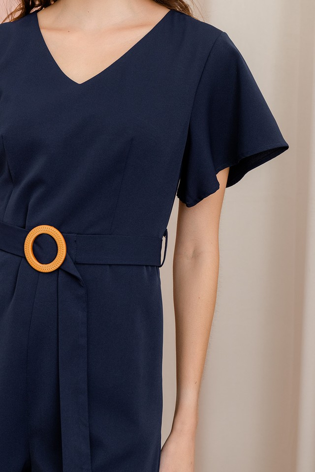Deann Playsuit Navy