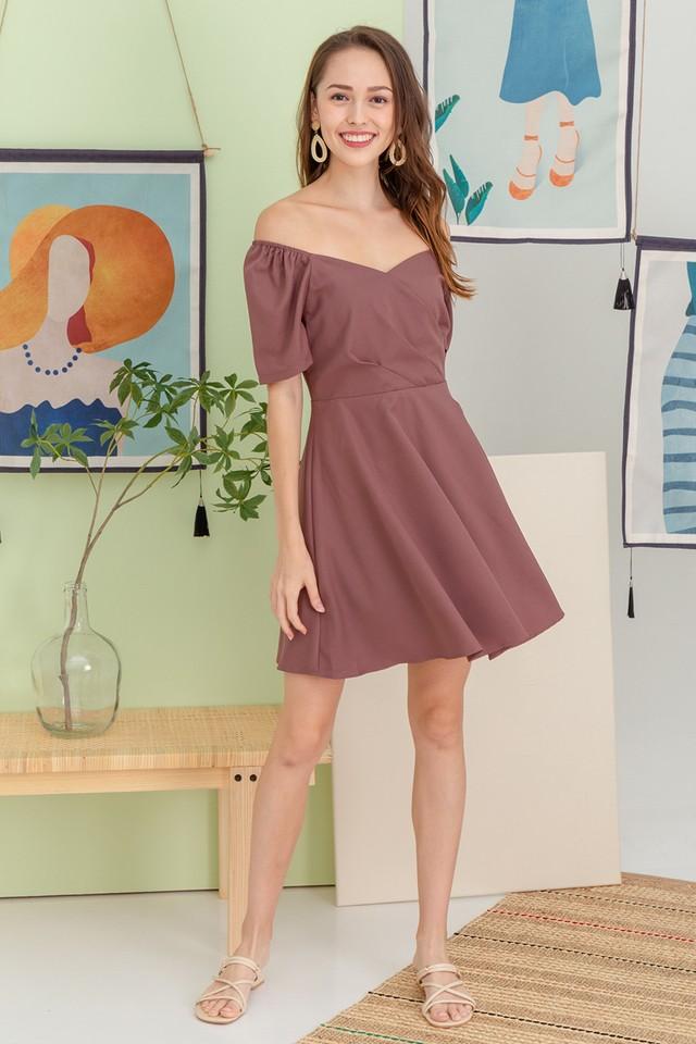 Tonnia Dress Mauve