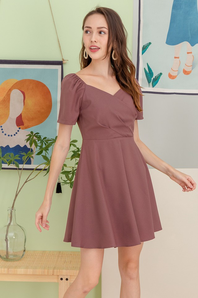 Tonnia Dress Mauve