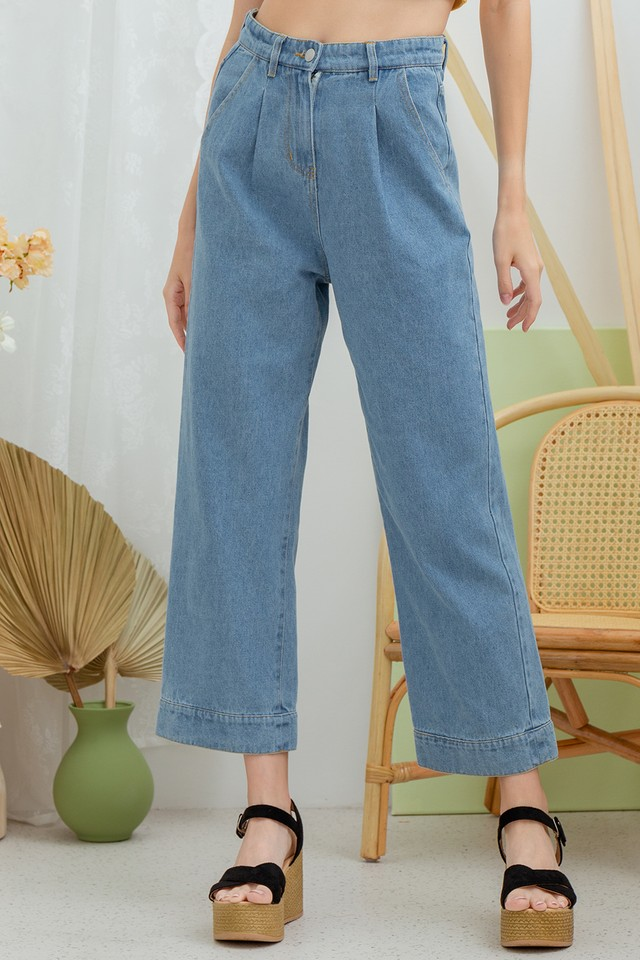 Wellden Denim Jeans Light Wash
