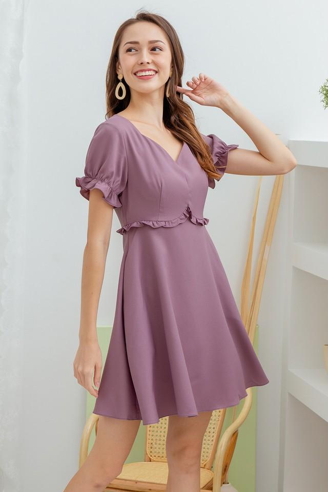 Linden Dress Mauve