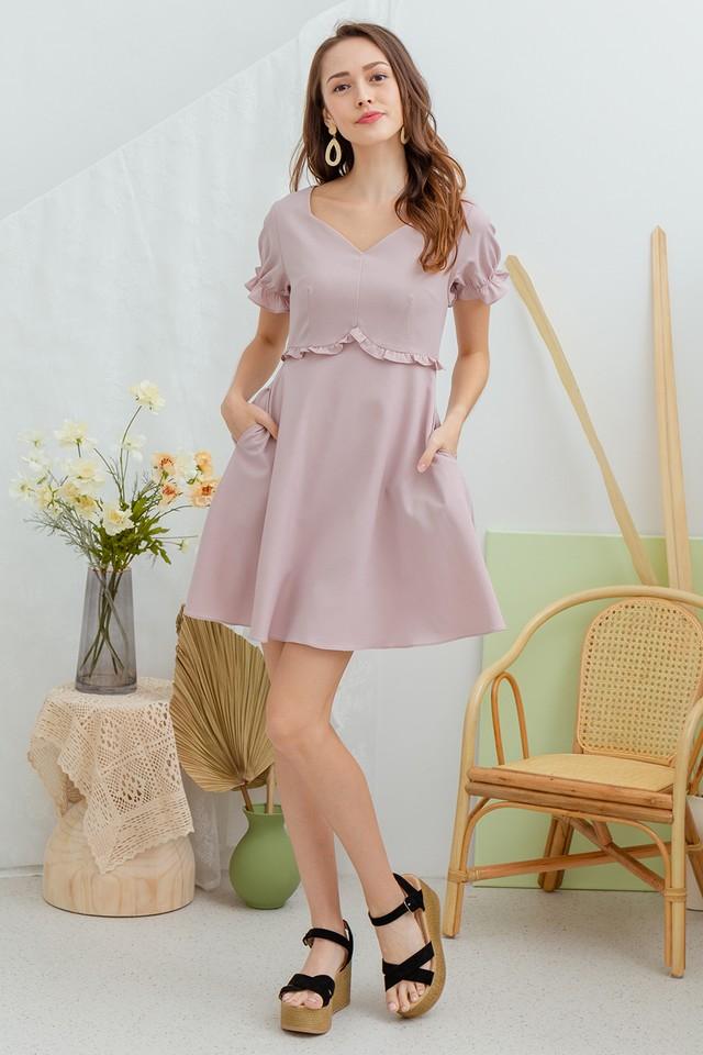 Linden Dress Sweet Pink