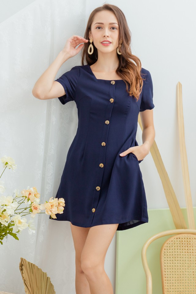 Reggie Dress Navy