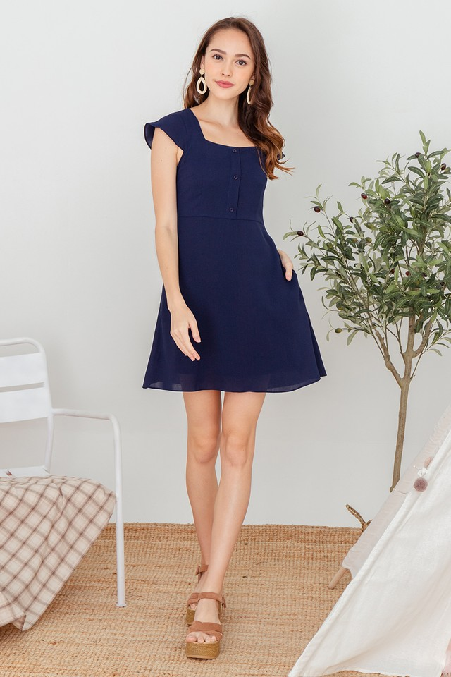 Wylinn Dress Navy