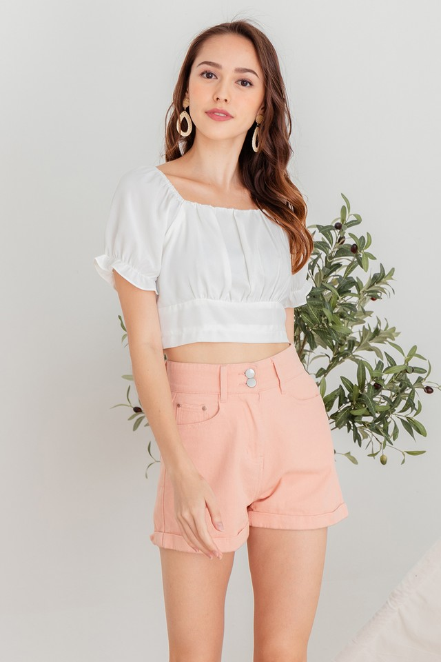 Kayann Top White