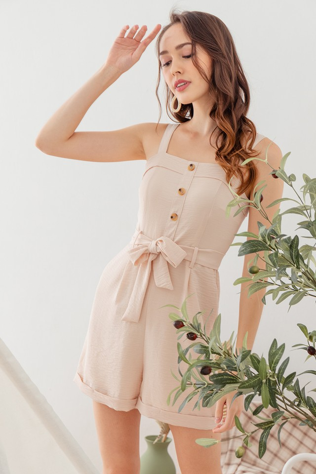Jobena Playsuit Sand