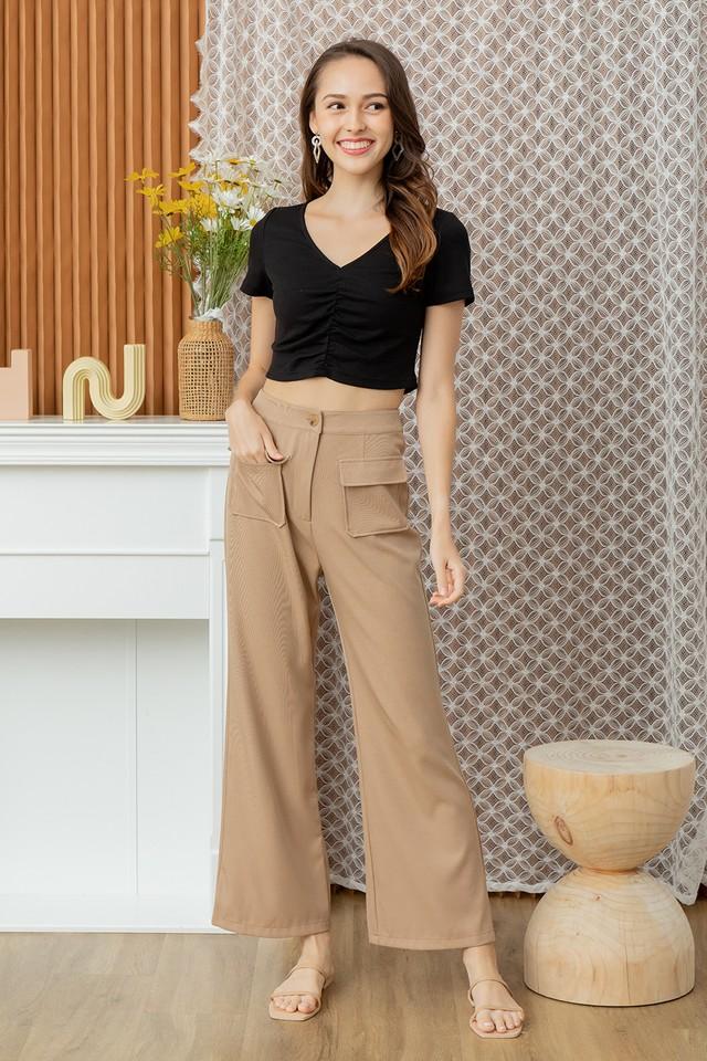 Shayla Culottes Khaki